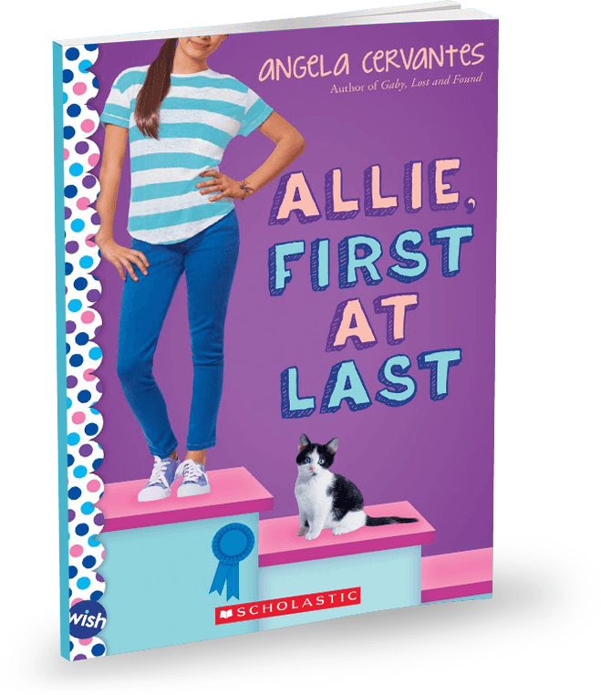 Allie, First At Last Angela Cervantes
