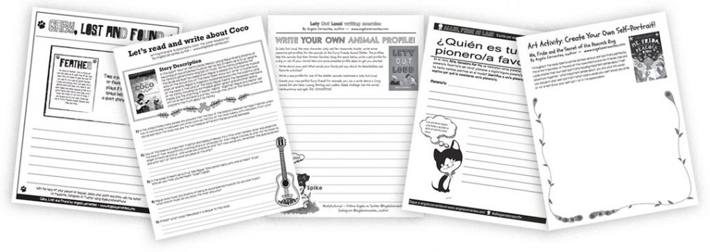 Angela Cervantes Worksheets